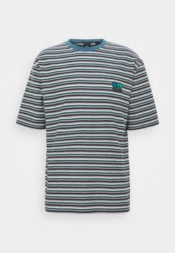Quiksilver - STRIPES  - T-shirt print - brown