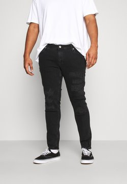 Jack & Jones - JJILIAM JJORIGINAL - Jeans Skinny - black denim