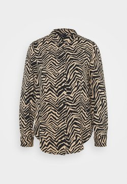 Marks & Spencer London - ZEBRA SPUN - Hemdbluse - black