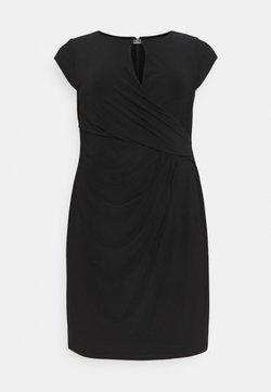Lauren Ralph Lauren Woman - CARLONDY DAY DRESS - Jersey dress - black