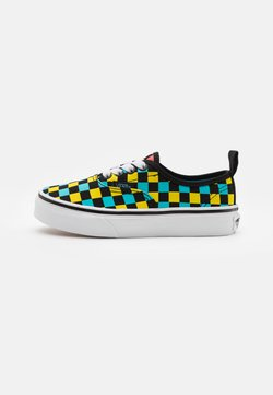 Vans - AUTHENTIC ELASTIC LACE UNISEX - Sneakers basse - black/multicolor