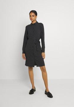 Vero Moda - VMSAGA COLLAR SHIRT DRESS  - Skjortekjole - black