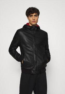 Gipsy - GRAYDON - Leren jas - black
