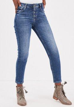BONOBO Jeans - MIT KNÖPFEN - Jeans Slim Fit - stone blue denim