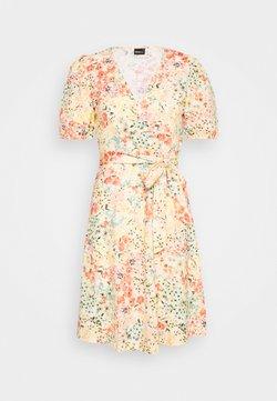 Gina Tricot - WANJA WRAP DRESS - Jerseykjole - multi coloured