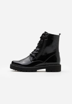 Marco Tozzi - BOOTS - Plateaustiefelette - black