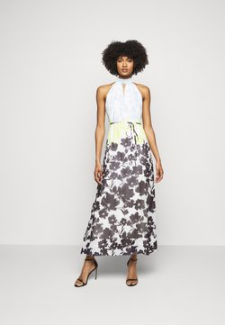 Milly - MORGAN SILHOUETTE DRESS - Maxi dress - blue/multi
