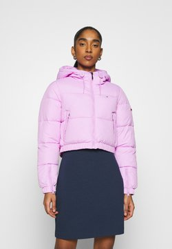 Tommy Jeans - CROPPED PUFFER - Winterjacke - fresh orchid