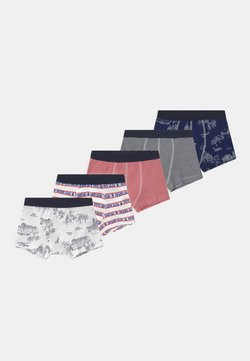Petit Bateau - PARIS 5 PACK - Panties - dark blue/white