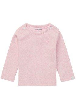 Noppies - BABY TEE NATAL UNISEX - Camiseta de manga larga - light rose melange