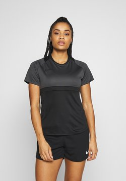 Nike Performance - DRY - Printtipaita - black/anthracite
