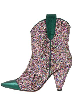 Toral - High Heel Stiefelette - eclat green/multicolor
