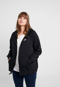 Nike Sportswear - HOODY - Collegetakki - black/white