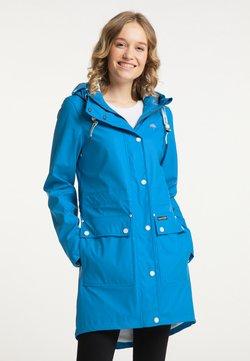 Schmuddelwedda - Regenjacke / wasserabweisende Jacke - blau