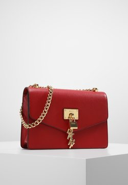 DKNY - ELISSA SHOULDER - Umhängetasche - bright red