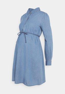 Supermom - DRESS - Farkkumekko - acid blue