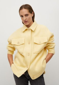 Mango - COUNTRY - Chaqueta de entretiempo - pastel yellow