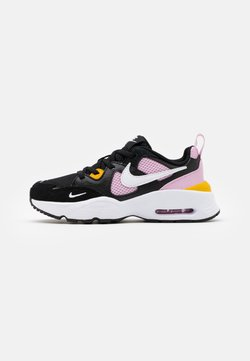 Nike Sportswear - AIR MAX FUSION UNISEX - Sneakers laag - black/white/light arctic pink/dark sulfur