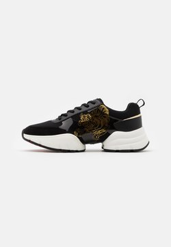 Ed Hardy - CAGED RUNNER TIGER - Sneaker low - black/gold