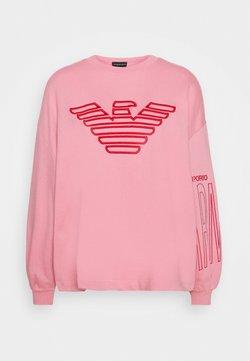 Emporio Armani - Bluza - rosa fumetto