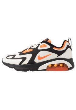 Nike Sportswear - AIR MAX 200 - Baskets basses - black/magma orange/sail