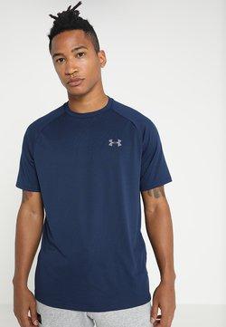Under Armour - HEATGEAR TECH  - T-Shirt print - academy/graphite
