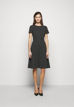 Lauren Ralph Lauren - PRINTED TECH DRESS - Freizeitkleid - black