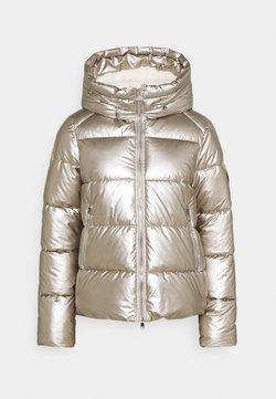Barbour International - MATT AXIS QUILT - Winterjacke - white gold/silver