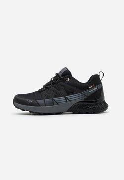 KangaROOS - K-TRUN RTX - Sneakers laag - jet black/steel grey