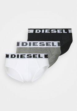 Diesel - ANDRE 3 PACK - Slip - black/white/grey