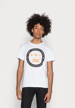 Jack & Jones - JCOBILO - T-shirt con stampa - white
