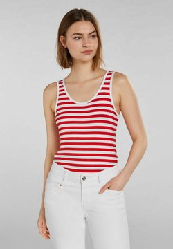 Oui - Top - white red