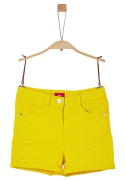s.Oliver - Shorts - yellow