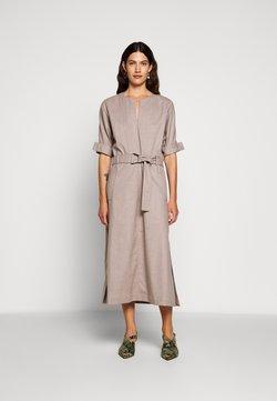 3.1 Phillip Lim - BELTED DOLMAN SLEEVE DRESS - Vestido informal - warm grey melange