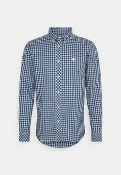Barbour Beacon - GINGHAM SLIM - Camisa - blue