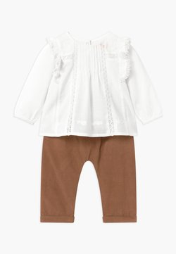 Staccato - SET - Pantalones - white/beige