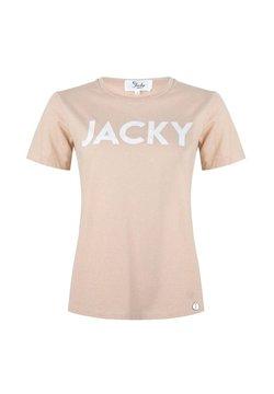Jacky Luxury - 'JACKY'&NBSP - T-shirt print - powder