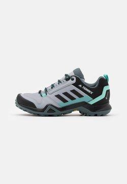 adidas Performance - TERREX AX3 GTX - Scarpa da hiking - silver/core black/acid mint