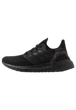 adidas Performance - ULTRABOOST 20  - Laufschuh Neutral - core black/solar red
