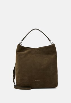 Coccinelle - KEYLA SUEDE MED  - Shopping Bag - reef