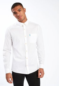 Next - WHITE SLIM FIT SLIM FIT LIGHT TWILL SHIRT - Camicia elegante - white