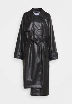 DESIGNERS REMIX - MARIE COAT - Trenchcoat - black