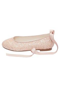 Next - PEWTER GLITTER TIE  - Klassischer  Ballerina - pink
