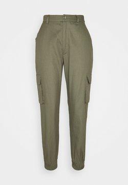 Missguided Petite - PLAIN TROUSER - Pantalones - khaki