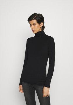 PIECES Tall - PCSIRENE ROLLNECK - Långärmad tröja - black