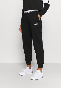 Puma - AMPLIFIED PANTS - Jogginghose - black
