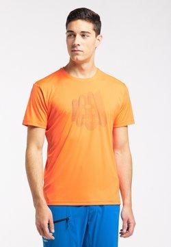 Haglöfs - T-Shirt print - flame orange