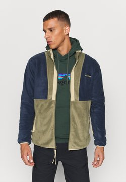 Columbia - BACK BOWL FULL ZIP  - Veste polaire - stone green/collegiate navy
