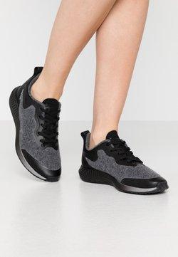Tamaris Fashletics - LACE UP - Sneakers laag - shadow/black