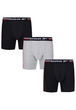 Reebok - 3 PACK - Bokserit - black/grey marl/vector red